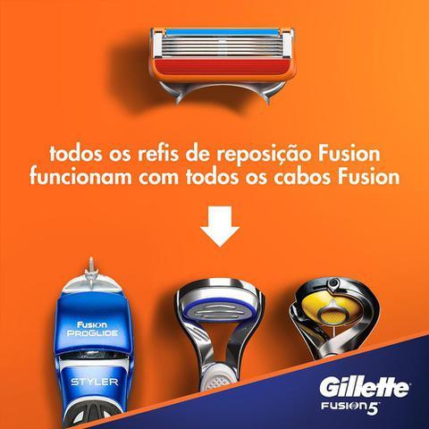 Imagem de Carga Gillette Fusion 5 c/ 4 Unidades