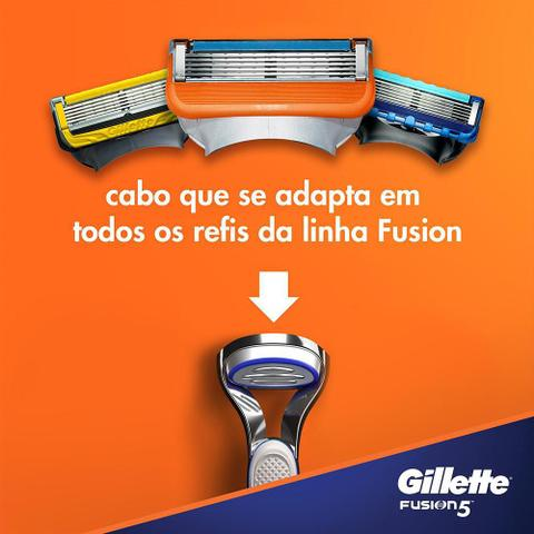 Imagem de Carga Gillette Fusion 5 com 2 unidades