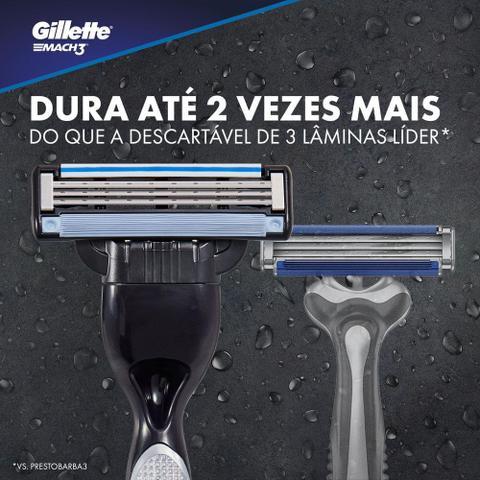 Imagem de Carga Gillette Mach3 4 Unidades