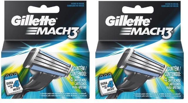 Imagem de Carga Gillette Mach3 - 8 Cartuchos