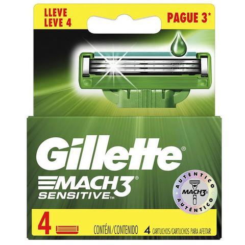 Imagem de Carga Gillette Mach3 Leve 4 Pague 3
