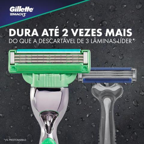 Imagem de Carga Gillette Mach3 Sensitive 4 Unidades