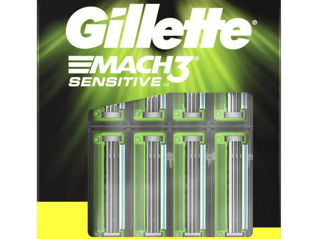 Imagem de Carga Gillette Mach3 Sensitive