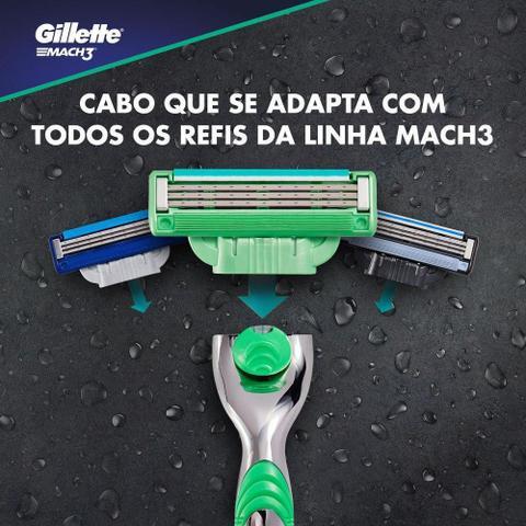 Imagem de Carga Gillette Mach3 Sensitive com 4 unidades