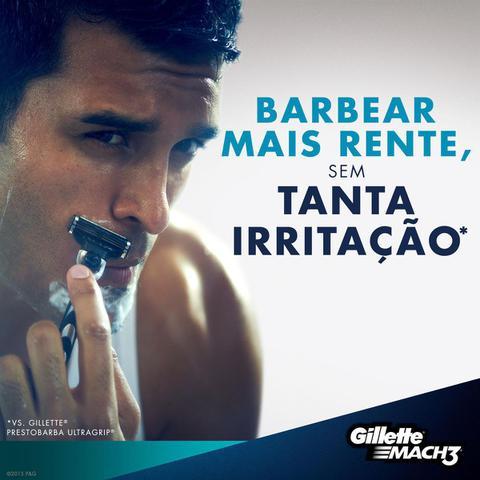 Imagem de Carga Para Aparelho De Barbear Gillette Mach3 - 4 Unidades