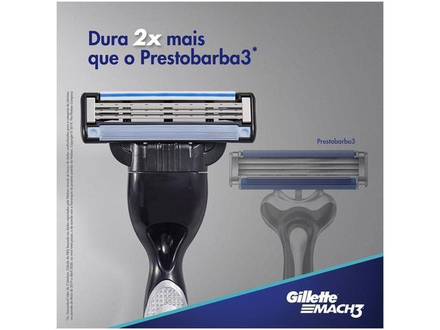 Imagem de Carga para Aparelho de Barbear Gillette Mach3 - 8 Unidades