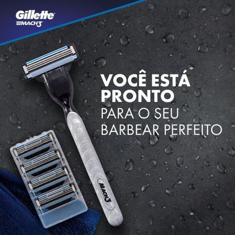 Imagem de Carga para Aparelho de Barbear Gillette Mach3 Leve 8 Pague 6