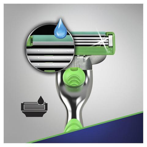 Imagem de Carga Para Aparelho De Barbear Gillette Mach3 Sensitive - 3 Unidades