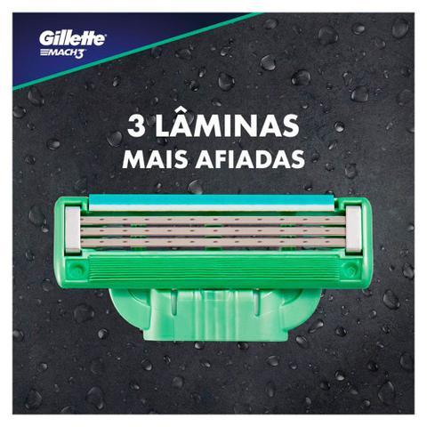 Imagem de Carga para Barbear Gillette Mach3 Sensitive