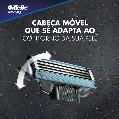 Imagem de Carga Para Lâmina De Barbear Gillette Mach3 - 2 unidades