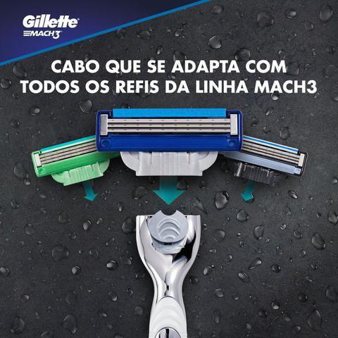 Imagem de Carga Para Lâmina De Barbear Gillette Mach3 Turbo 4 - unidades