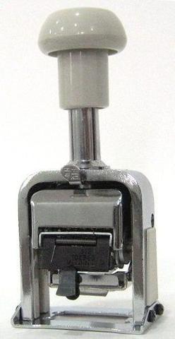 Imagem de Carimbo Numerador Automático 6 Dígitos De 0 A 12 Repetições Kaz