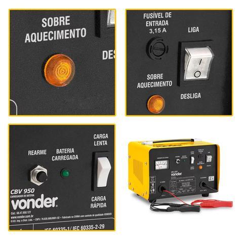 Imagem de Carregador Bateria Automotivo 12v 25-90ah