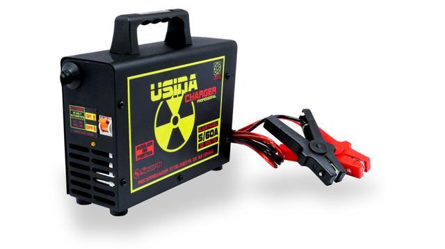 Imagem de Carregador Bateria Fonte Usina Charger 60A 14.4v Regulador Spark