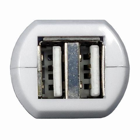 Imagem de Carregador Celulares 2 Saídas USB 12V/24V para Carro - DNI 0585