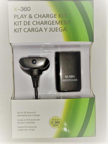 Imagem de Carregador Com Bateria do Controle Xbox Slim 360