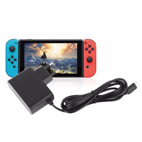 Imagem de Carregador Compatível Com Nintendo Switch Fonte 100-240v Bivolt