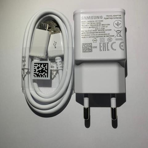 Imagem de Carregador Completo Fast Charge Original Para Samsung Galaxy S1 S2 S3 S4 S5 S6 S7 Edge