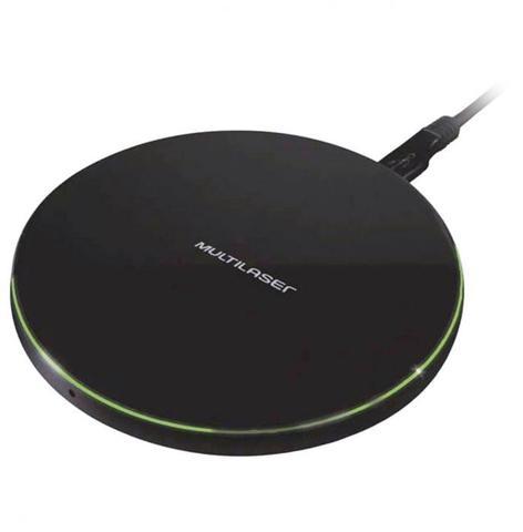 Imagem de Carregador concept wireless ultra rápido 10w android e iphone preto cb130