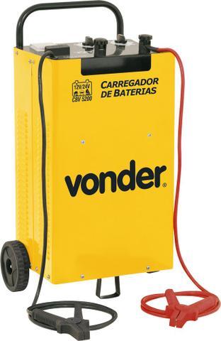 Imagem de Carregador de bateria 60-750ah 12/24v 127/220v cbv5200 - Vonder