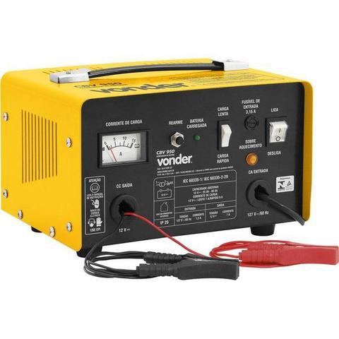 Imagem de Carregador de Bateria Automotiva VONDER CBV 950 68.47.950