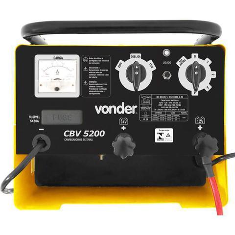Imagem de Carregador De Bateria Automotivo Vonder 6847520000 12V E 24V