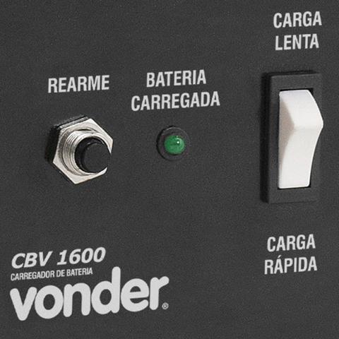 Imagem de Carregador de Bateria Cbv1600 1600W Vonder 127V