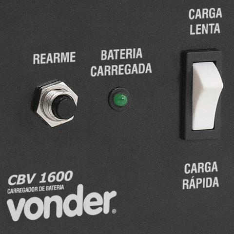 Imagem de Carregador de Bateria Cbv1600 1600W Vonder 220V