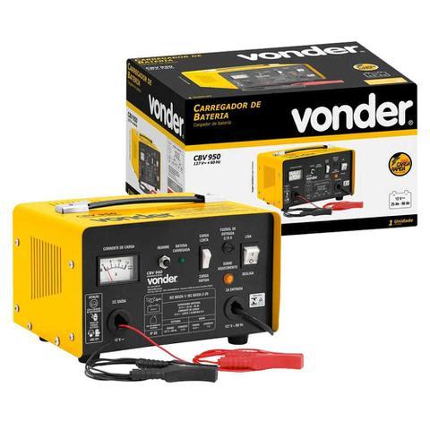 Imagem de Carregador De Baterias 90a Cbv 950 - Vonder