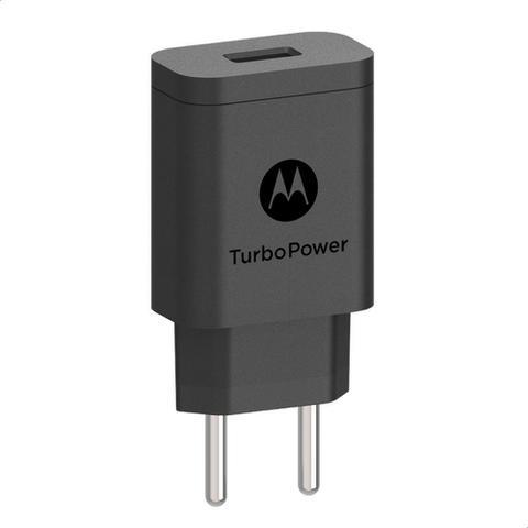 Imagem de Carregador De Parede Motorola Turbo Power 18w - Sem Cabo Usb - Preto