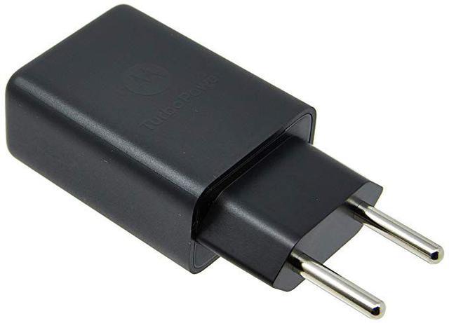 Imagem de Carregador de Parede Motorola - Turbo Power - Compatível C/ Qualquer Celular - Universal