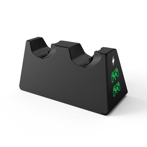 Imagem de Carregador Duplo Para Controle PlayStation 4 C/ Led Indicador de Carga