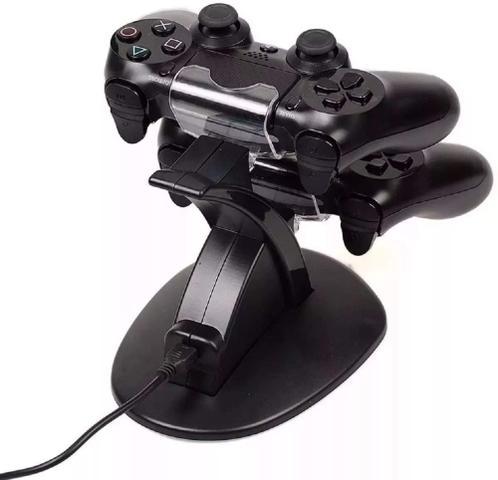 Imagem de Carregador Duplo Para Controle PlayStation 4 Ps4 Slim Pro