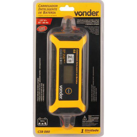 Imagem de Carregador inteligente de bateria 127 V CIB 080 VONDER