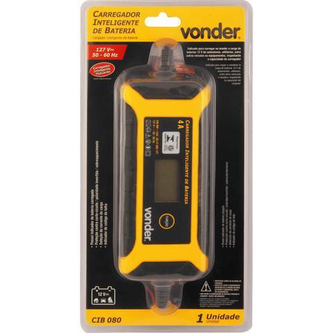 Imagem de Carregador Inteligente de Bateria 220V Cib 080 - Vonder
