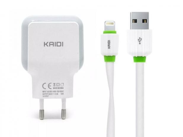 Imagem de Carregador iPhone Lightning KAIDI KD-605