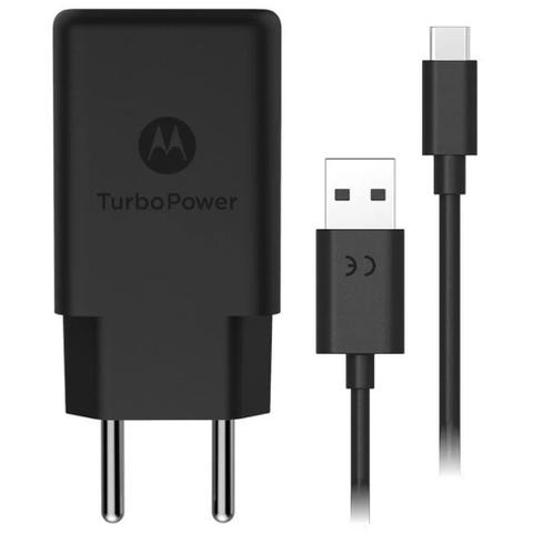 Imagem de Carregador Motorola Moto G7 e Moto G7 Plus Turbo Power Com Cabo Usb 1 Metro