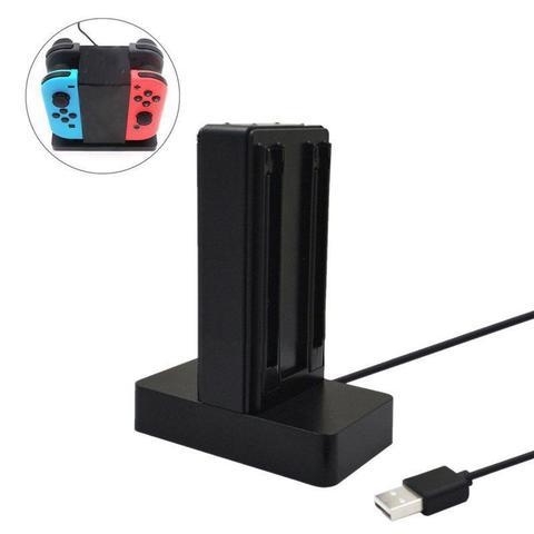 Imagem de Carregador Nintendo Switch Joy-con 4 Controles Estação Base