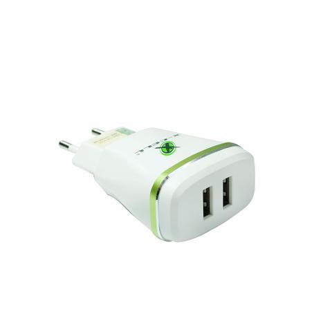 Imagem de Carregador para Celular Turbo Tipo-C X-Cell com 02 Portas USB