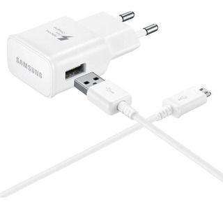 Imagem de Carregador Para galaxy S6 S7 Fast Charge Micro USB White
