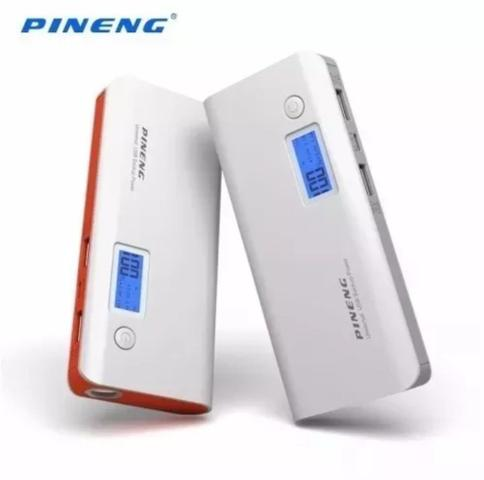 Imagem de Carregador portatil pineng 10.000mah  compativel iphone 6, 7 e 7 plus