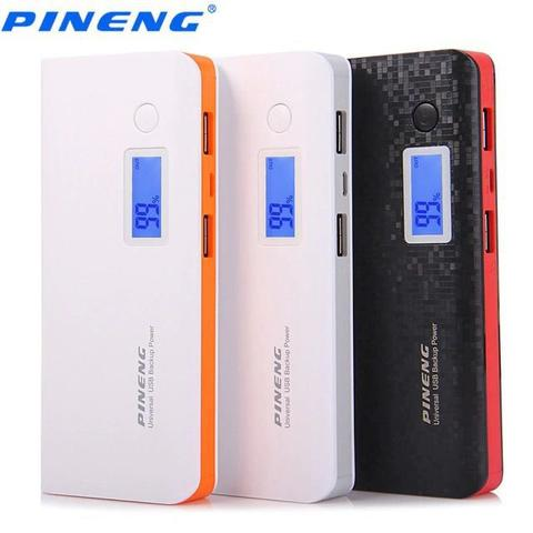 Imagem de Carregador portatil pineng 10.000mah   compativel iphone 7 plus + cabo Pmcell Iphone