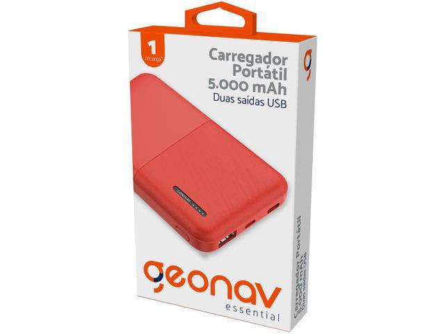 Imagem de Carregador Portátil/Power Bank Geonav 5000 mAh