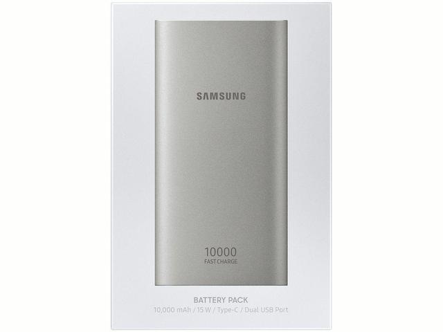 Imagem de Carregador Portátil/Power Bank Samsung 10000mAh - Fast Charge EB-P1100CSPGBR