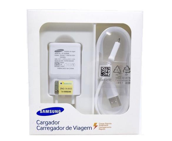 Imagem de Carregador Samsung Galaxy Turbo Fast J4 Plus J5 J7 Prime J8 S6 S7 A10 A10s  Original