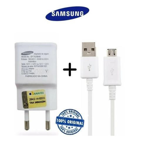Imagem de Carregador Samsung Original Galaxy A01 A10 A10s J1 J2 J3 J4 J5 J6 J7 Prime V8