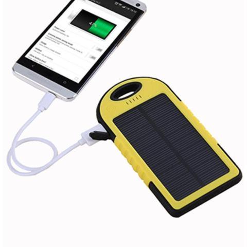 Imagem de Carregador Solar Universal Prova Dagua Poeira Portátil Top