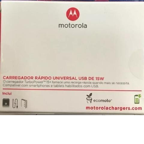 Imagem de Carregador Turbo Power Usb-c Moto X4 Z2 Z3 Zenfone 4 5z