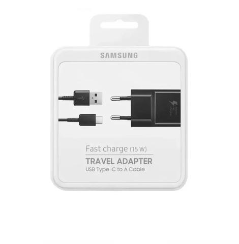 Imagem de Carregador Turbo Samsung TYPE C 15W Galaxy S8, S9 Plus Ta20b
