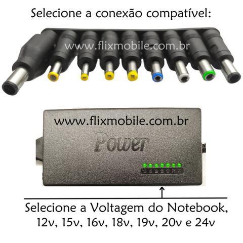 Imagem de Carregador Universal Biivolt para Notebook Samsung